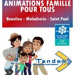 Animations Famille vacances hiver 2021
