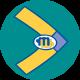 Logo rond tandem