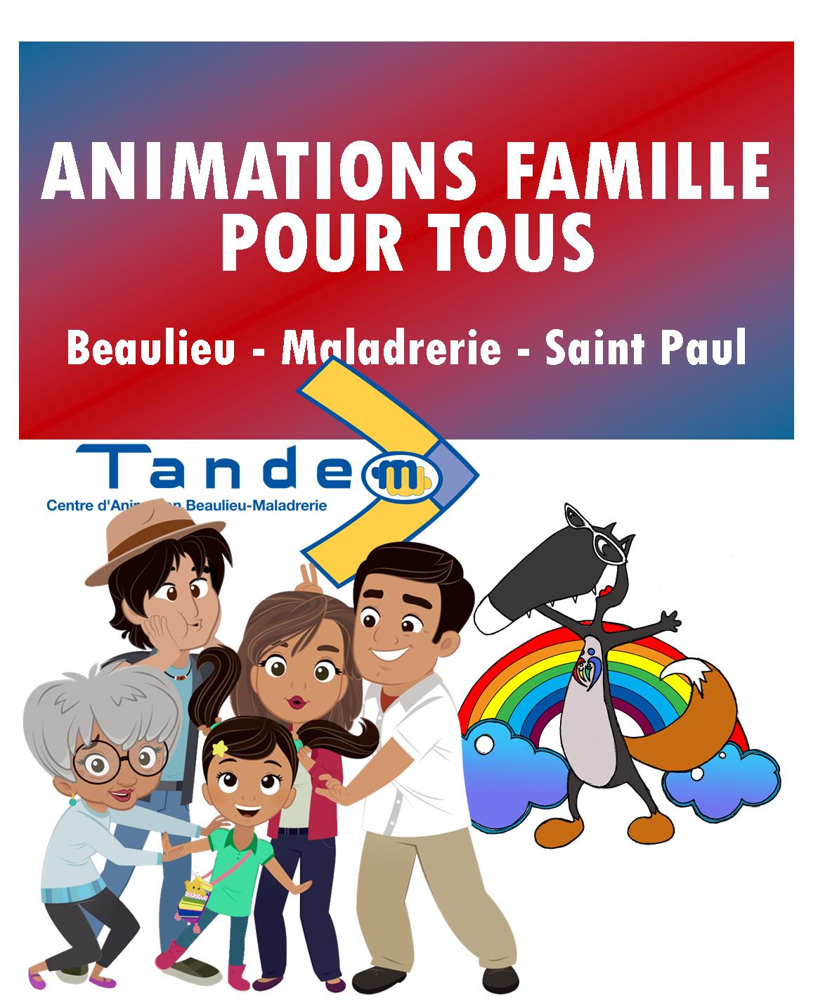 Animations pour tous janvier à avril 2020